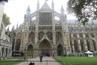 Westminster Abby in London, UK
