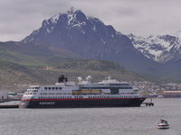 MS Midnatsol in Ushuaia