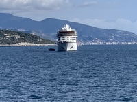 Viking Star from ashore at Monte-Carlo