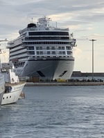Viking Star in port in Sete
