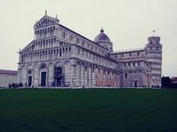 Cathedral by Leaning Tower of Pisa