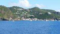 Nice view of St Barts