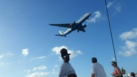 Airport Overflight on St Maarten