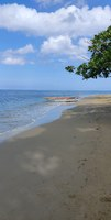 Beach in Dominic Republic at the end if Excursion.