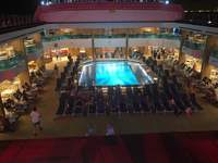The main pool on deck 9