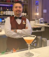 Take Five, which featured a favorite Princess bartender, Winn.