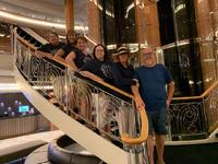 Atrium on the ship