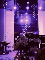 Singer pianist entertainment at Promenade Lounge. Loved it! Excellent cockt
