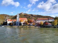 Dürnstein Castle, where King Richard I was held in 1192-3 for ransom by th
