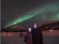 Northern Lights excursion in Alta. Trygve Nygard, who runs GLOD Explorer an