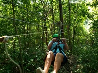 Zipline on Jamaica
