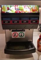 One of the 2 juice machines.