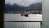 Ushuaia from our cabin