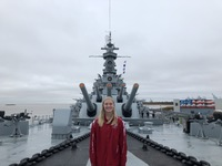 Mobile - Battleship Park:  A great place to visit, especially if you have k