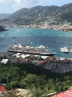 Koningsdam in St. Thomas
