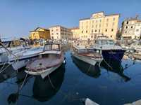 Piran, Slovenia. A short drive from the port in Koper.