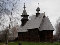 "Church at the ""Wooden Building Museum""  at either Kostrama or Varos"