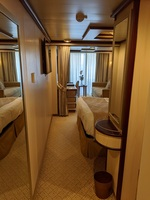 Island Princess Mini-Suite C731 Caribe Deck 10, December 2019