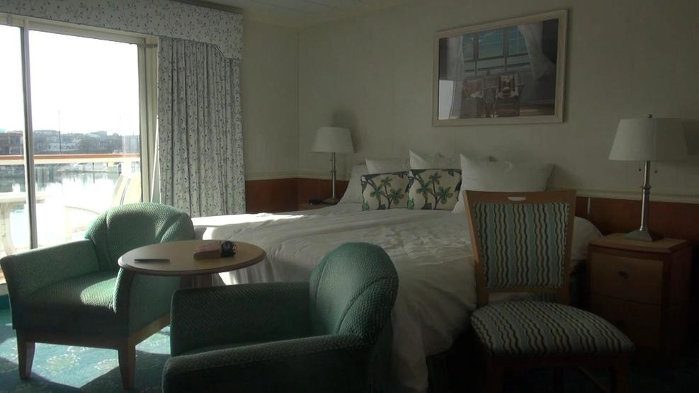 Veranda Suite. Spacious room. Although there was plenty of room for luggage