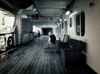 The third floor promenade deck.