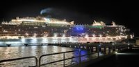 Regal Princess at Night