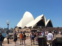 Visiting opera house.  Was beautiful