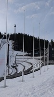 Stade for winter sports Trondheim, the last stop of our excursion with the