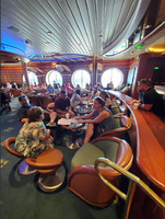 Great bars on the ship - plenty of room for a large group to get together.