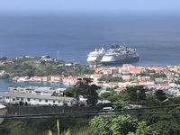 Look at ship from fort frederick grenada