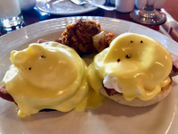 Eggs Benedict at the Sea Day Brunch