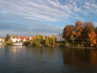 Beautiful countryside, colors, foliage, cooler temps sailing along the Danu