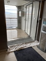 water leakage in reception area following a storm