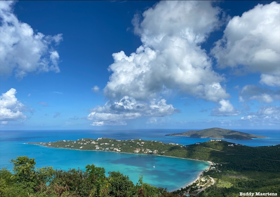 View from atop St.Thomas