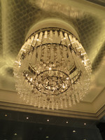 Chandelier in main space