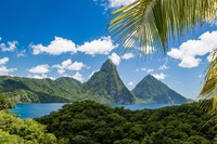 St Lucia:  Pitons