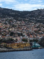 Coming into Madeira -- a wonderful tour and place!