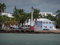 Coming into Belize City