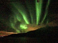 Amazing Northern Lights display leaving Narvik on 2/18/20