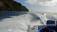 st Lucia speed boat trip