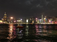Hong Kong at night. One of the worlds greatest sights. Amazing!