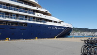 Le Laperouse in port at Wellington