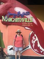 Entrance to Margaritaville, about a mile from ship dock.  Great place!