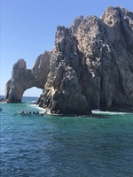 Cabo San Lucas famous rock formations