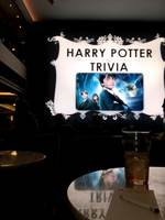 Harry potter trivia in the atrium