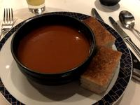 Cagneys Tomato Soup and grilled cheese appetizer