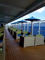 Lanai on Deck 5- So perfect in the morning to sit and have a latte!