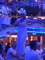 Emma at White Party.