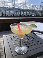 Excellent margarita pool side onboard the Muse