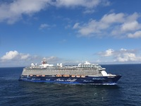 Sister ship Mein Schiff 4 - Photo taken from the deck of Mein Schiff 2